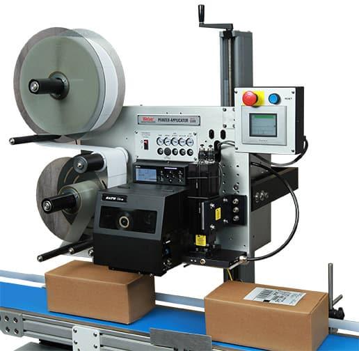 Print and Apply 5300 เครื่องพิมพ์และติดฉลากสินค้าแบบอัติโนมัติ สามารถพิมพ์ได้ต่อเนื่องกำหนดความเร็วได้ตามต้องการตัวเครื่องออกแบบให้ง่ายต่อการติดตั้งเข้ากับไลน์ผลิต ใช้งานควบคู่กับสติกเกอร์ได้ทุกรูปแบบ สนใจสอบถามราคาติดต่อ 02-451-1330 หรือ www.tomco.co.th