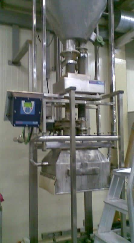 เครื่องตรวจจับโลหะ Tote or Box Filler (grain)