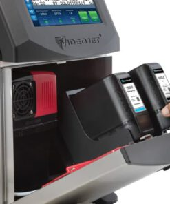 เครื่องพิมพ์วันที่ รุ่นใหม่ VJ1580 เปิดฝา
