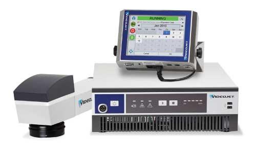 เครื่องพิมพ์วันที่ผลิตเลเซอร์ VideoJet Fiber Laser 7510