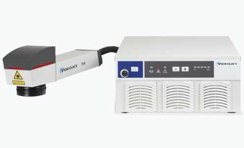 เครื่องพิมพ์วันที่ผลิตเลเซอร์ VideoJet Fiber Laser 7610