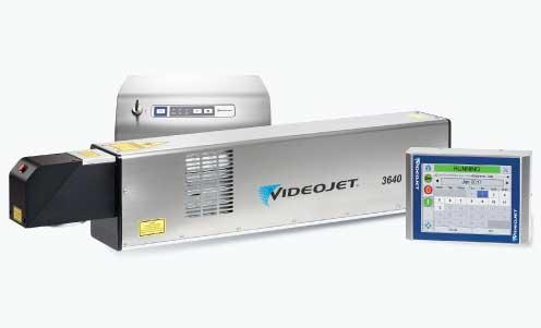 เครื่องพิมพ์วันที่ผลิตเลเซอร์ VideoJet CO2 Laser 3640
