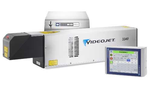 เครื่องพิมพ์วันที่ผลิตเลเซอร์ VideoJet CO2 Laser 3340
