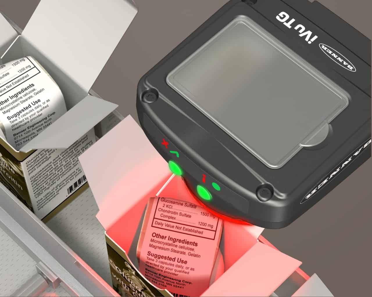 กล้องตรวจสอบสินค้า เช็คความผิดปกติในกล่อง
