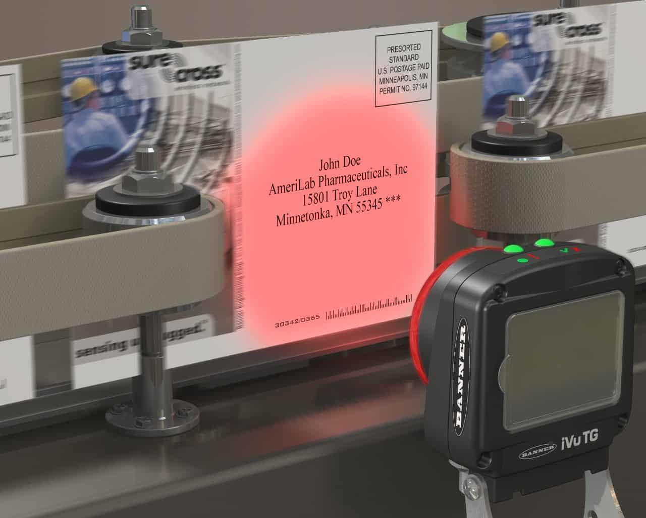 กล้องตรวจสอบสินค้า การตรวจข้อความ