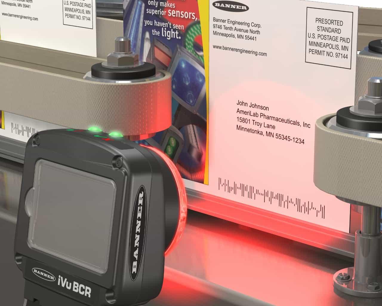 กล้องตรวจสอบสินค้า การเช็คข้อความ