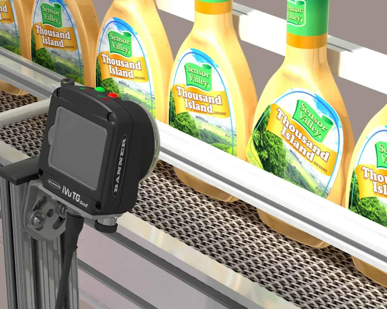 กล้องตรวจสินค้า การตรวจเช็คบรรจุภัณฑ์
