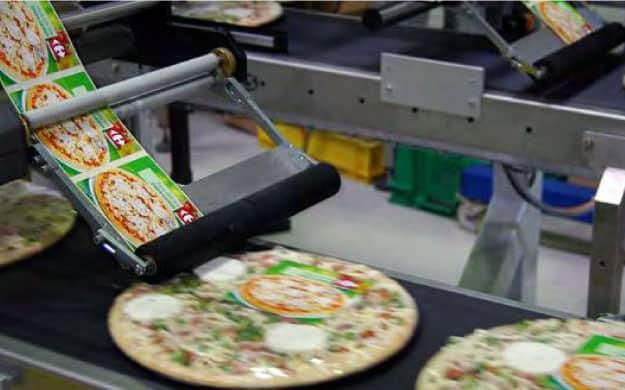 Application Label Applicator Pizza